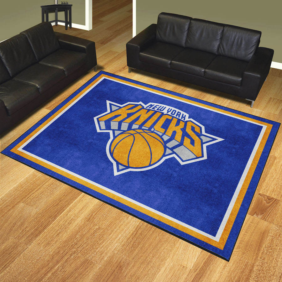 New York Knicks Ultra Plush 8x10 Area Rug