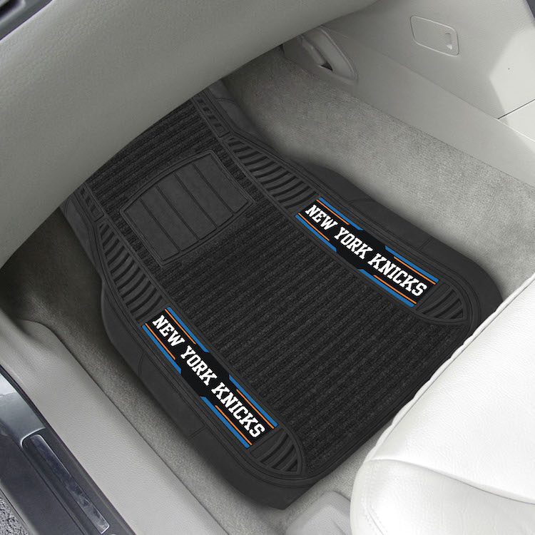 New York Knicks Deluxe 20 x 27 Car Floor Mats