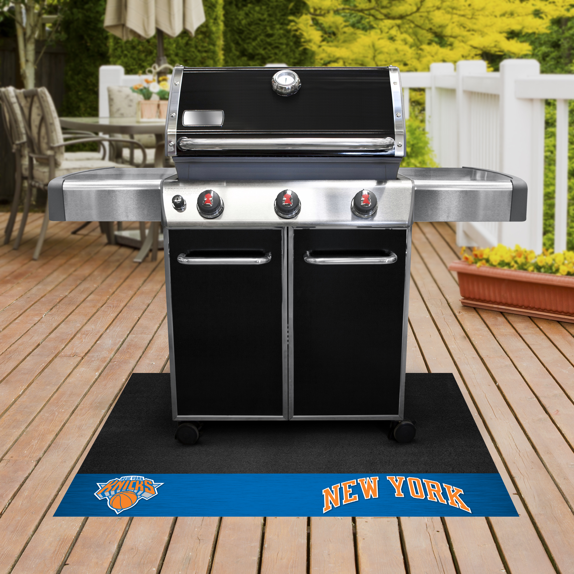 New York Knicks NBA Grill Mat