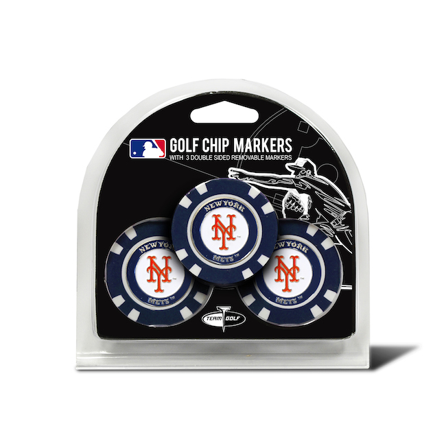 New York Mets 3 Pack Golf Chips