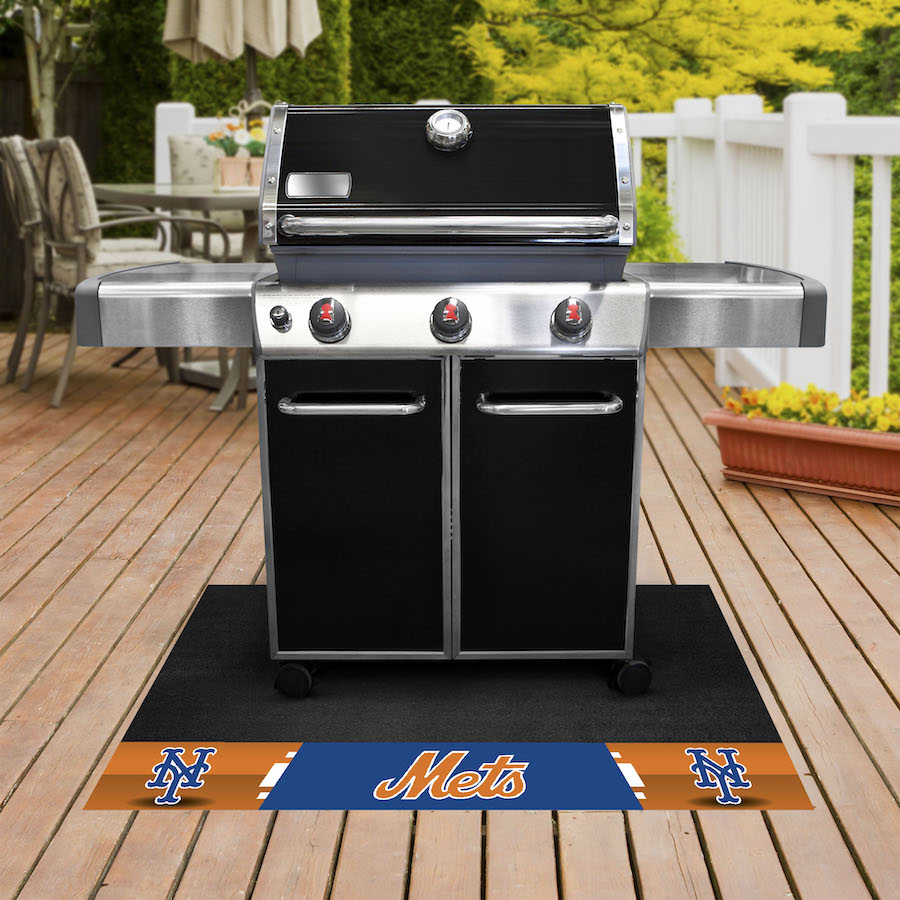 New York Mets MLB Grill Mat