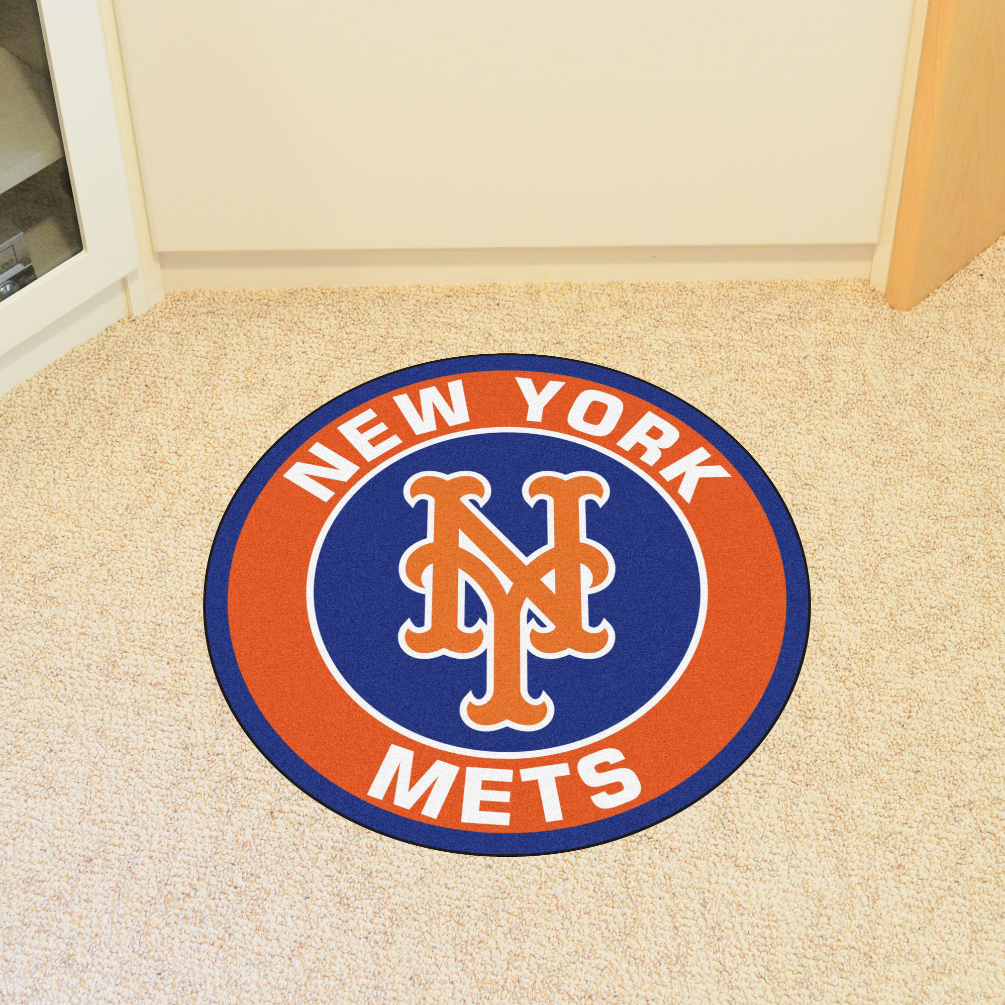 New York Mets Roundel Mat