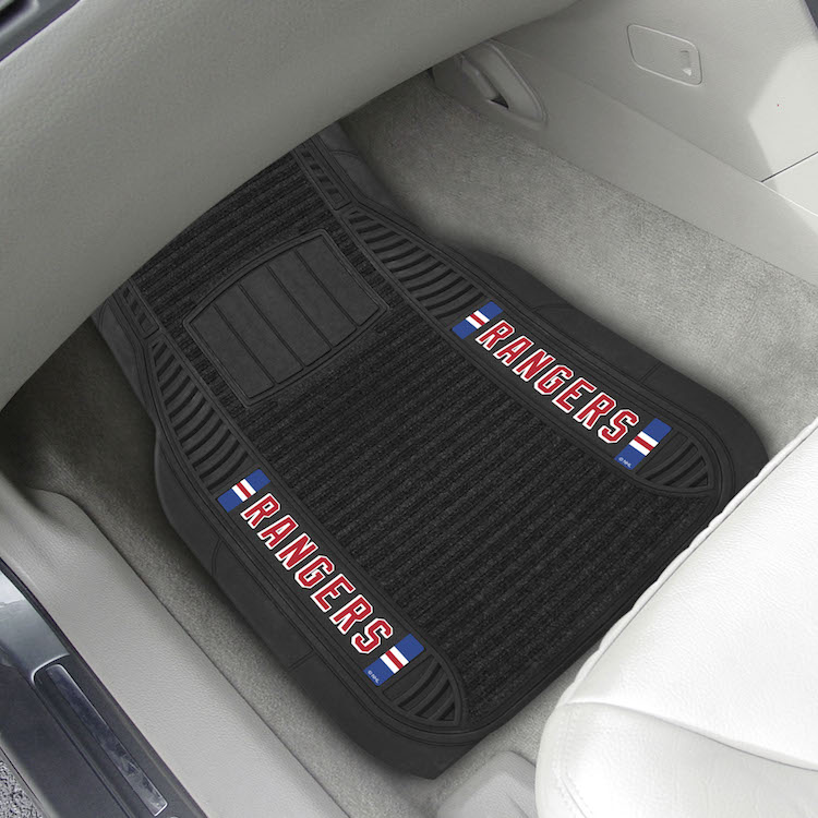 New York Rangers Deluxe 20 x 27 Car Floor Mats