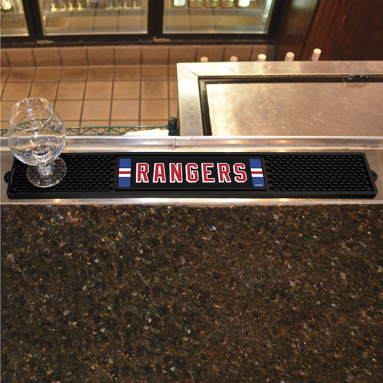 New York Rangers Bar Drink Mat