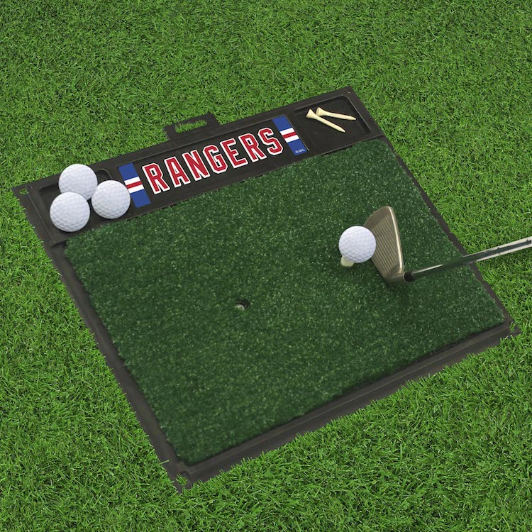 New York Rangers Golf Hitting Mat