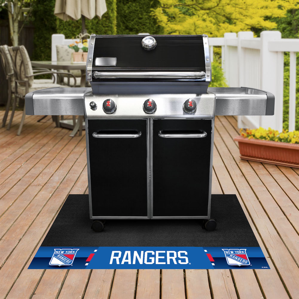 New York Rangers NHL Grill Mat
