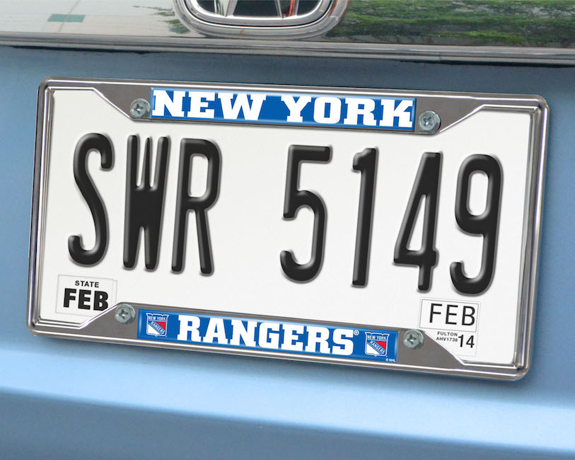New York Rangers License Plate Frame
