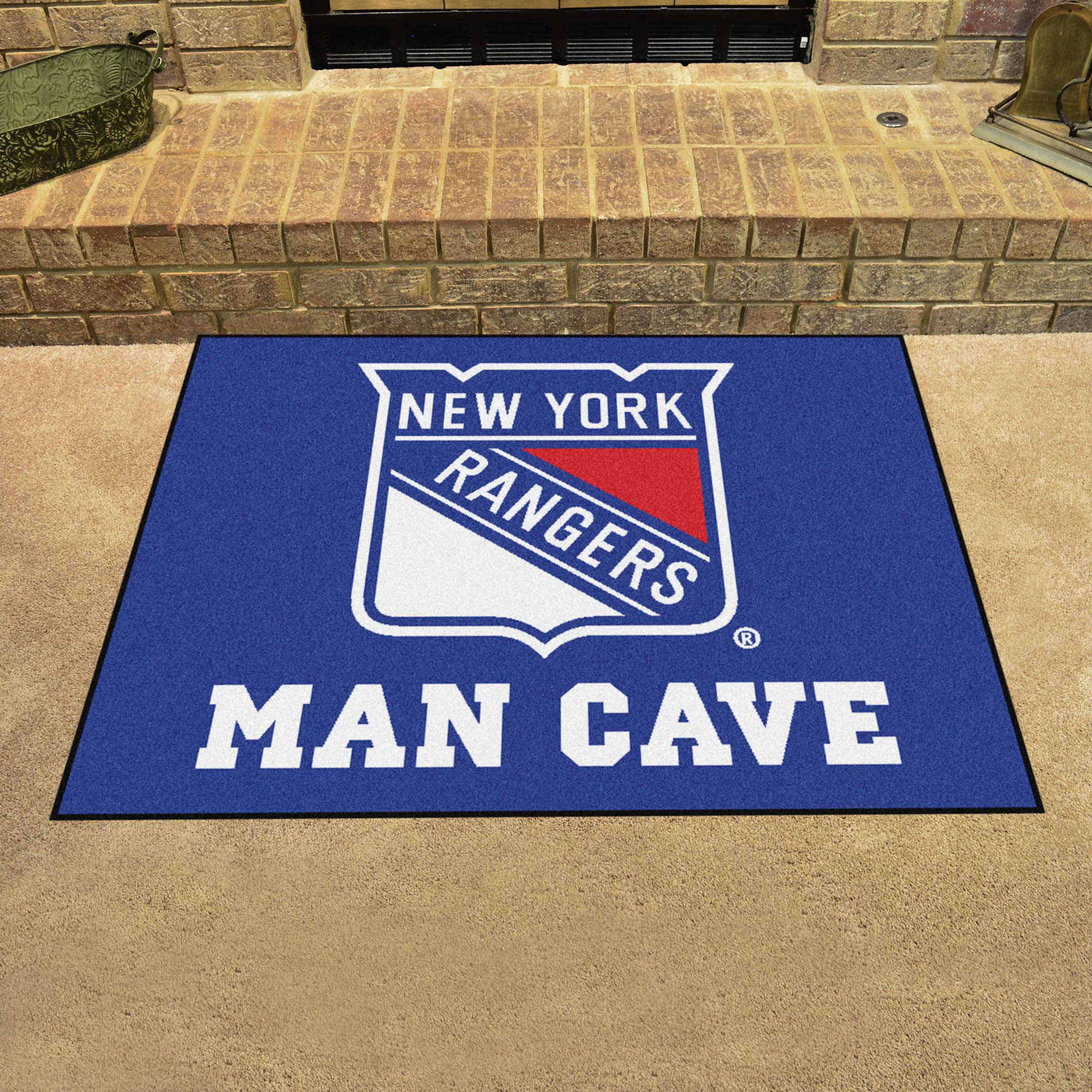 New York Rangers ALL STAR 34 x 45 MAN CAVE Floor Mat