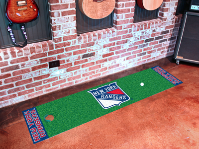 New York Rangers Putting Green Mat 18 x 72