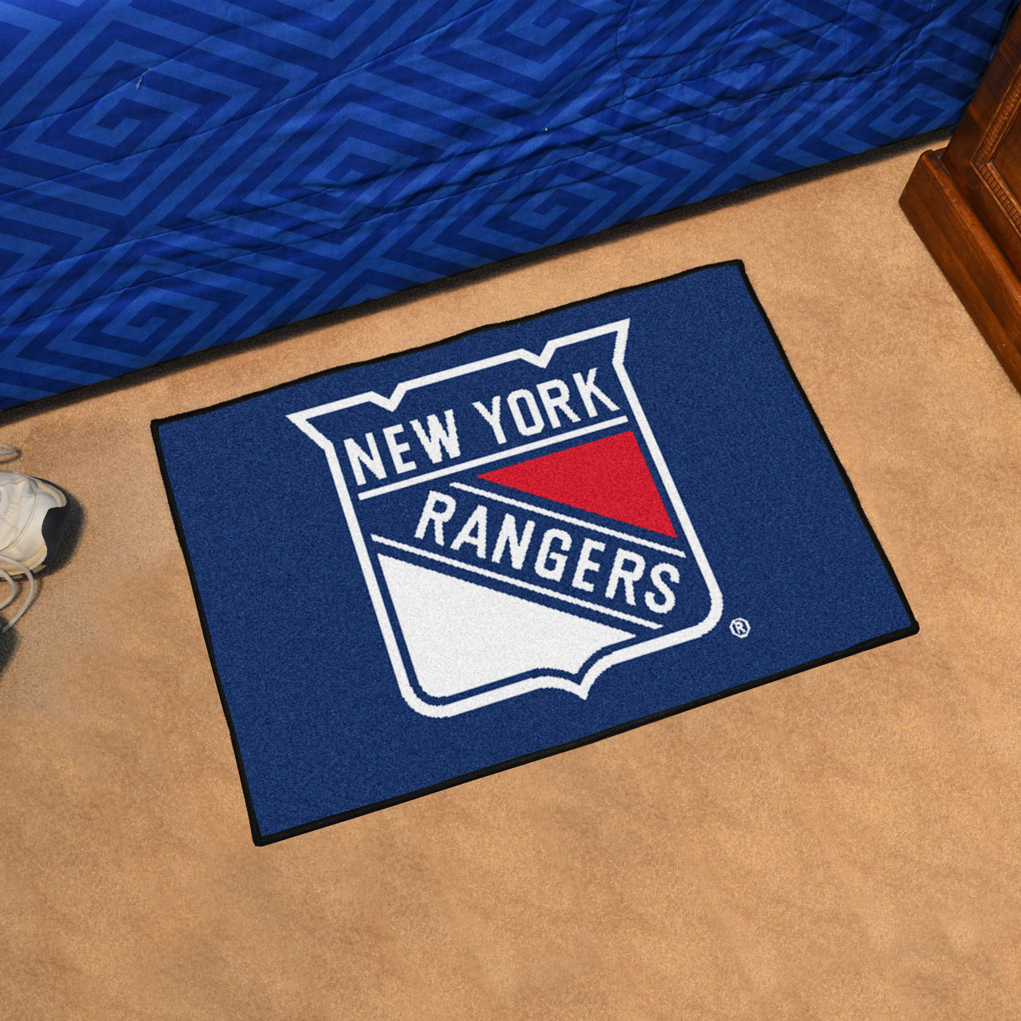 New York Rangers 20 x 30 STARTER Floor Mat