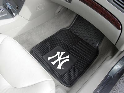 New York Yankees Vinyl Heavy Duty Car Floor Mats Buy At