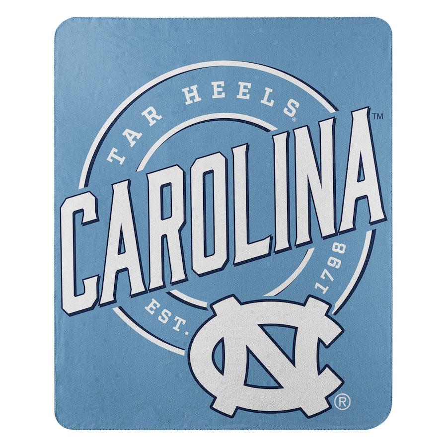 North Carolina Tar Heels Fleece Throw Blanket 50 X 60