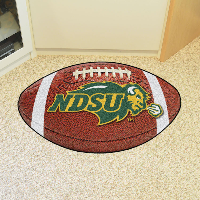 North Dakota State Bison 22 x 35 FOOTBALL Mat