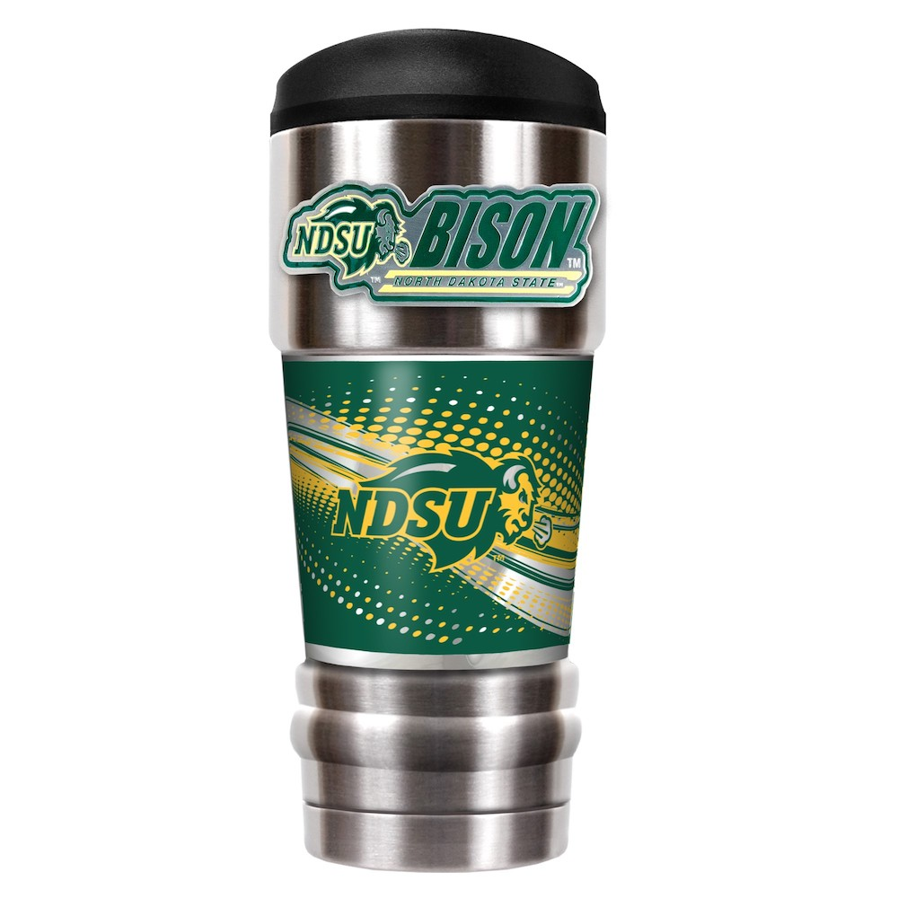 North Dakota State Bison 18 oz MVP SERIES NCAA Vacuum Insulated Travel Tumbler