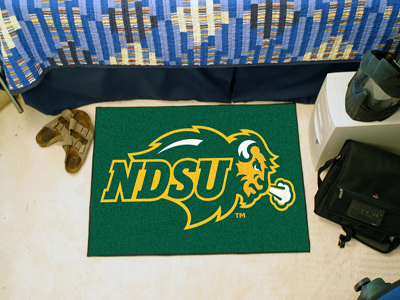 North Dakota State Bison 20 x 30 STARTER Floor Mat