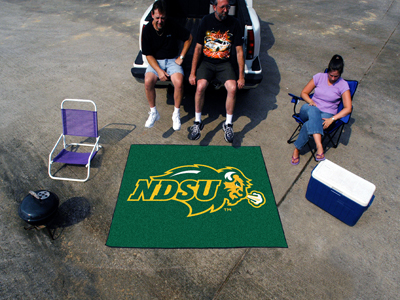 North Dakota State Bison TAILGATER 60 x 72 Rug