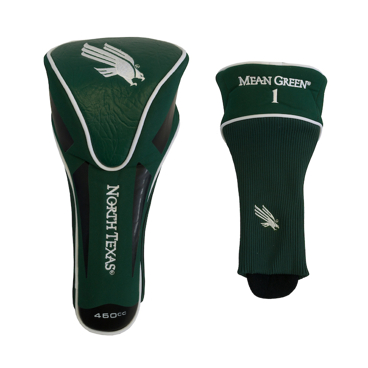 North Texas Mean Green Oversized Driver Headcover