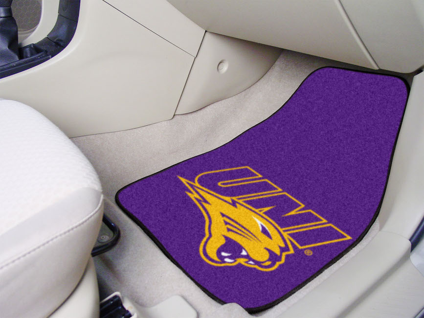 Northern Iowa Panthers Car Floor Mats 18 x 27 Carpeted-Pair