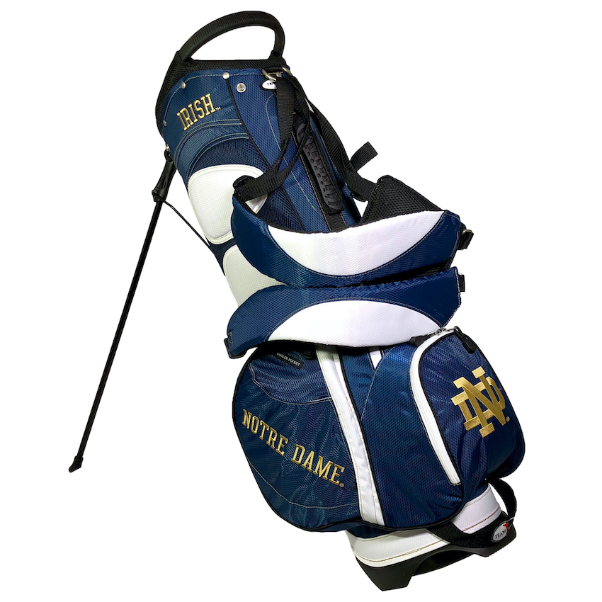 Notre Dame Fighting Irish Fairway Carry Stand Golf Bag