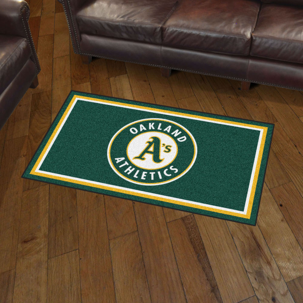 Oakland A's 3x5 Area Rug