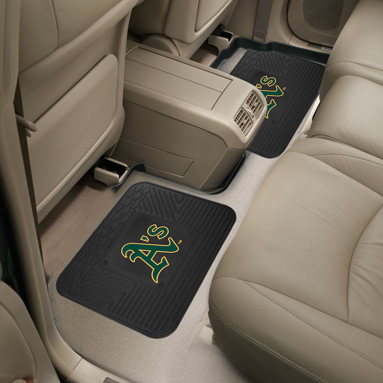 Oakland A's Small Utility Mat (Set of 2)