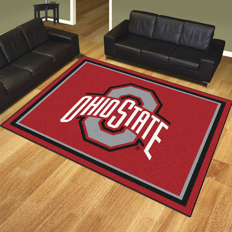 Ohio State Buckeyes Ultra Plush 8x10 Area Rug Buy At Khc
