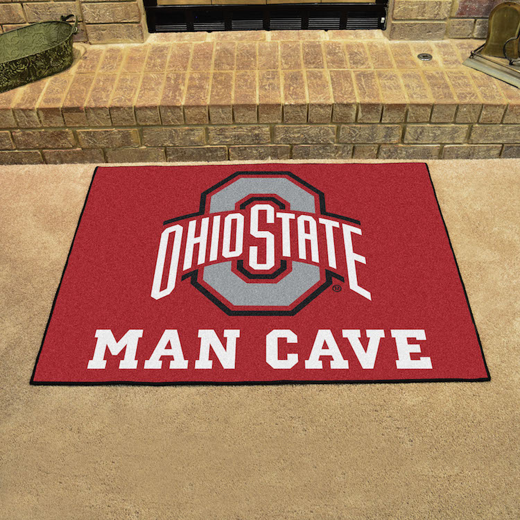 Ohio State Buckeyes ALL STAR 34 x 45 MAN CAVE Floor Mat