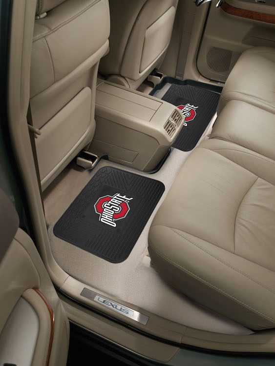 Ohio State Buckeyes Small Utility Mat (Set of 2)