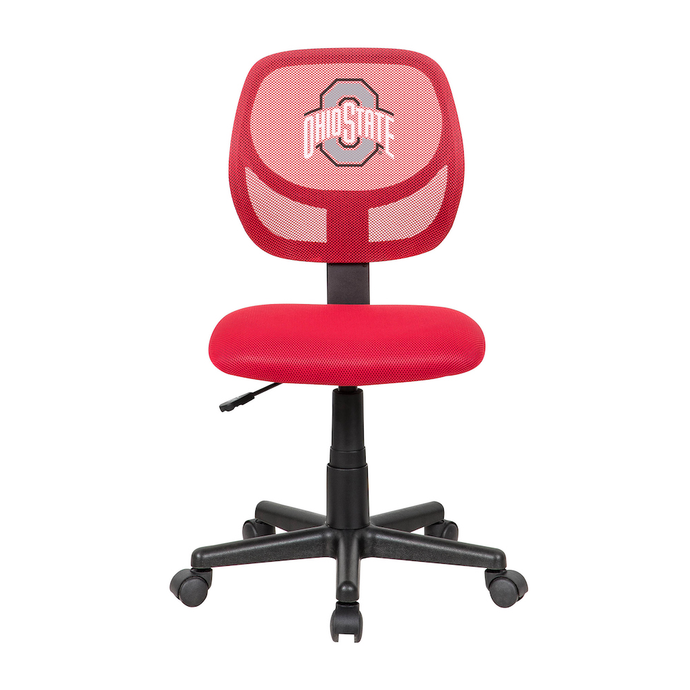 Ohio State Buckeyes Team Color STUDENT Task Chair