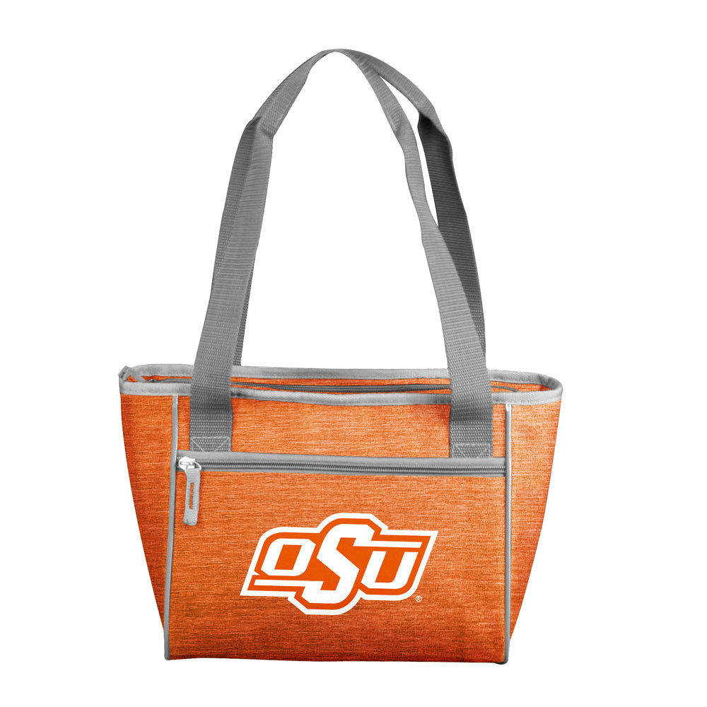 Oklahoma State Cowboys Crosshatch 16 Can Cooler Tote