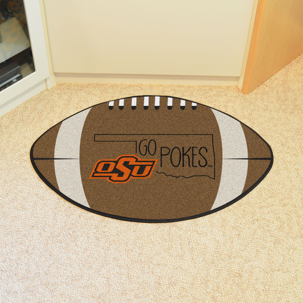Oklahoma State Cowboys SOUTHERN STYLE 22 x 35 Football Mat