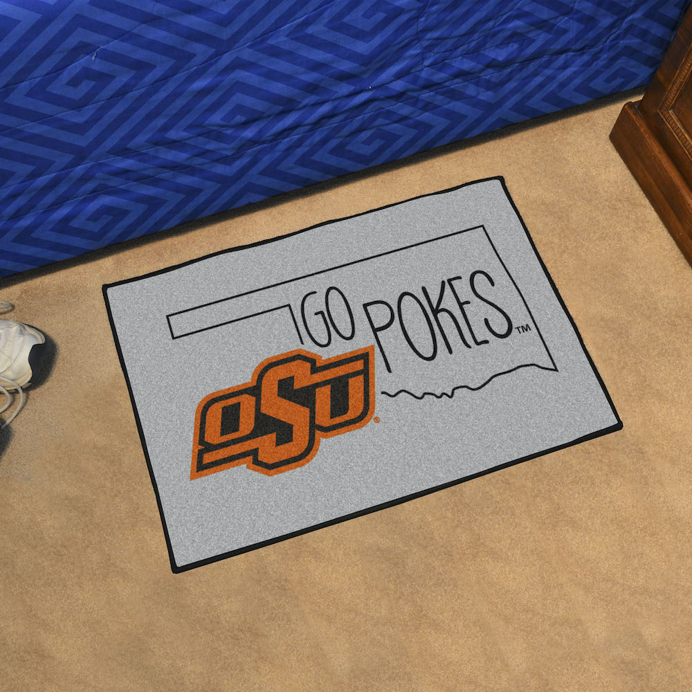 Oklahoma State Cowboys SOUTHERN STYLE 20 x 30 STARTER Floor Mat