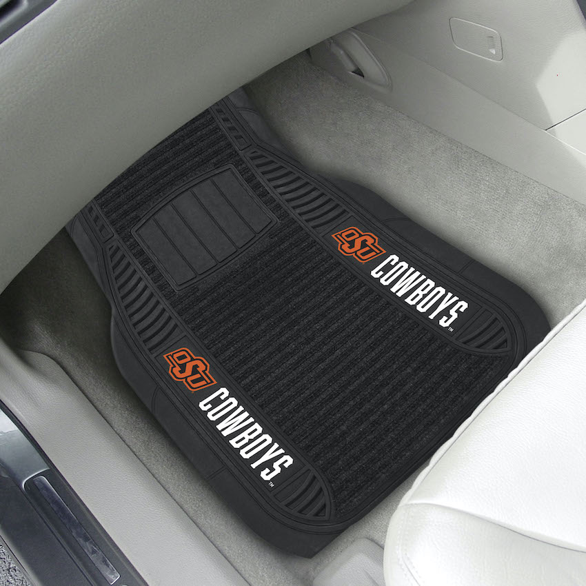 Oklahoma State Cowboys Deluxe 20 x 27 Car Floor Mats