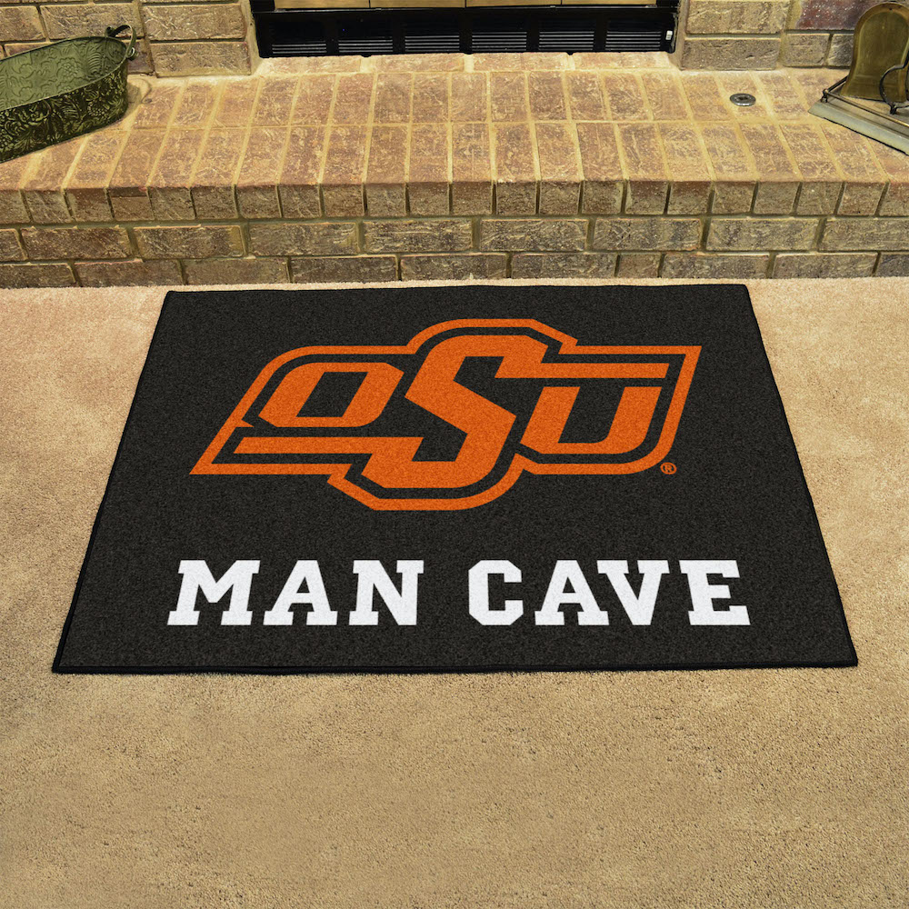 Oklahoma State Cowboys ALL STAR 34 x 45 MAN CAVE Floor Mat