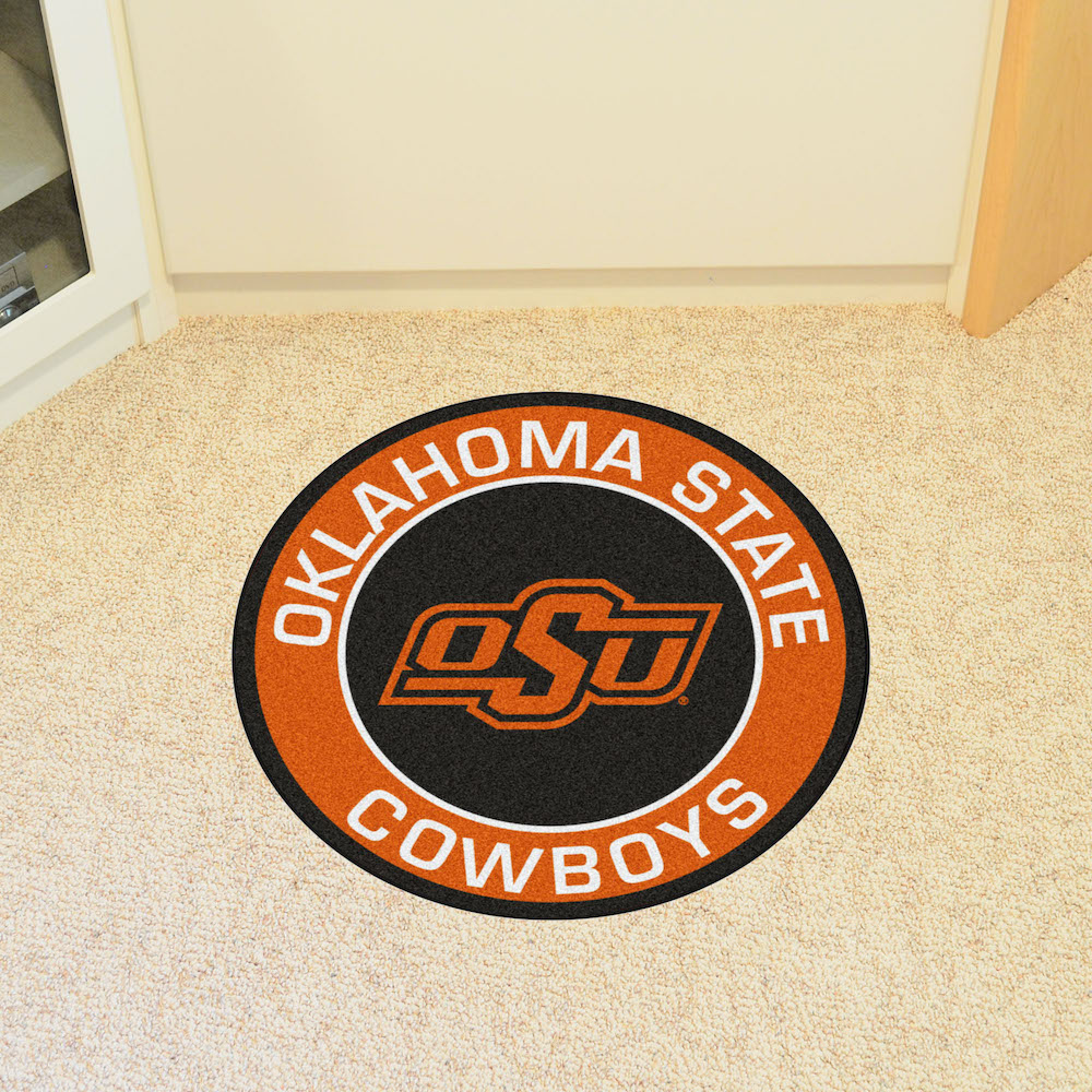 Oklahoma State Cowboys Roundel Mat