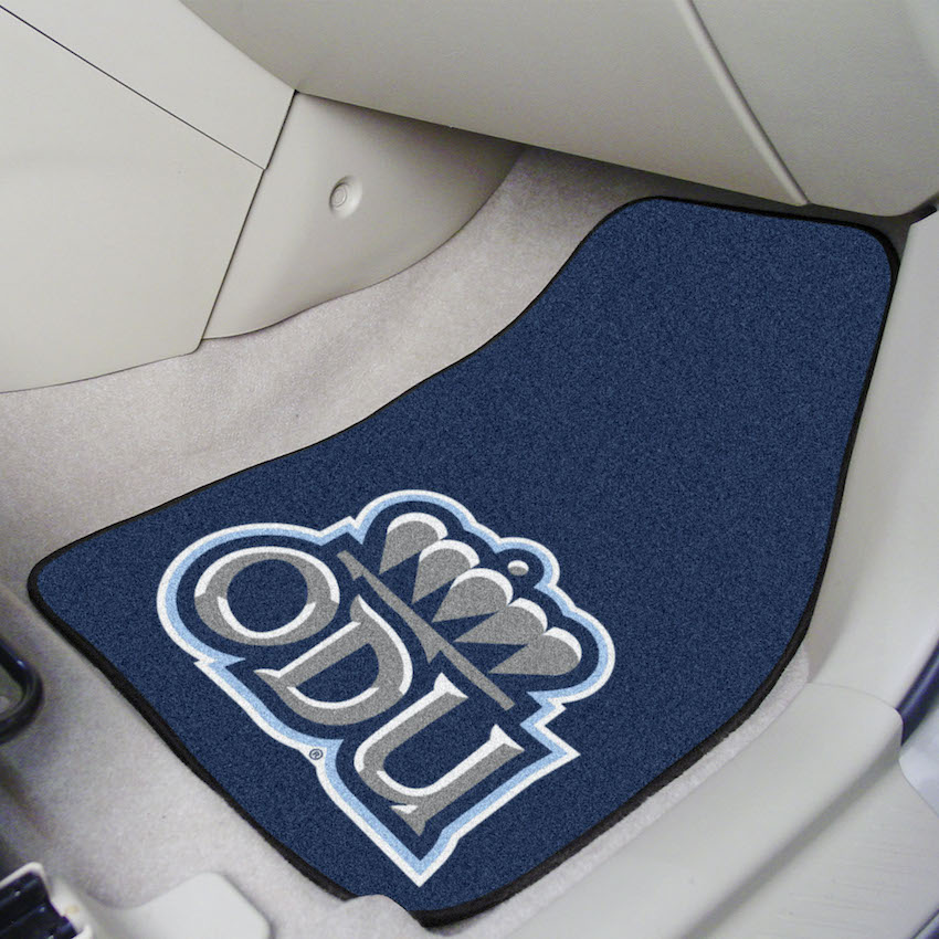 Old Dominion Monarchs Car Floor Mats 18 x 27 Carpeted-Pair