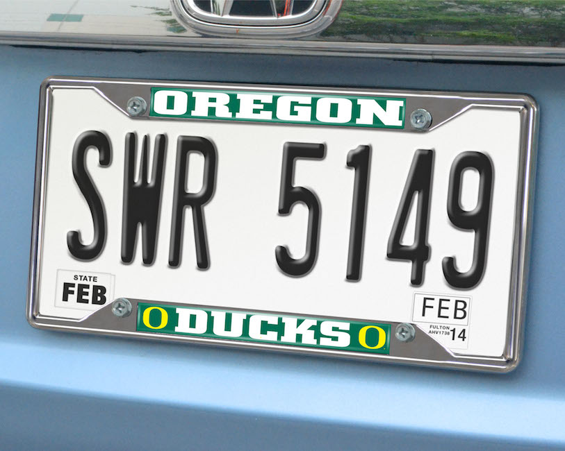 Oregon Ducks License Plate Frame