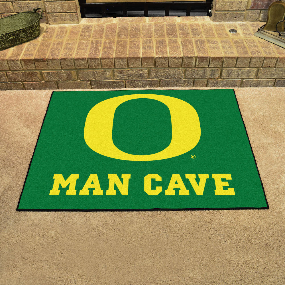 Oregon Ducks ALL STAR 34 x 45 MAN CAVE Floor Mat