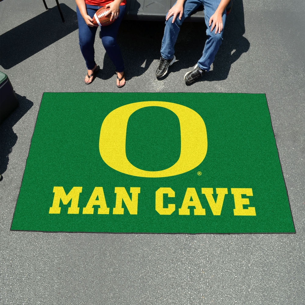 Oregon Ducks UTILI-MAT 60 x 96 MAN CAVE Rug