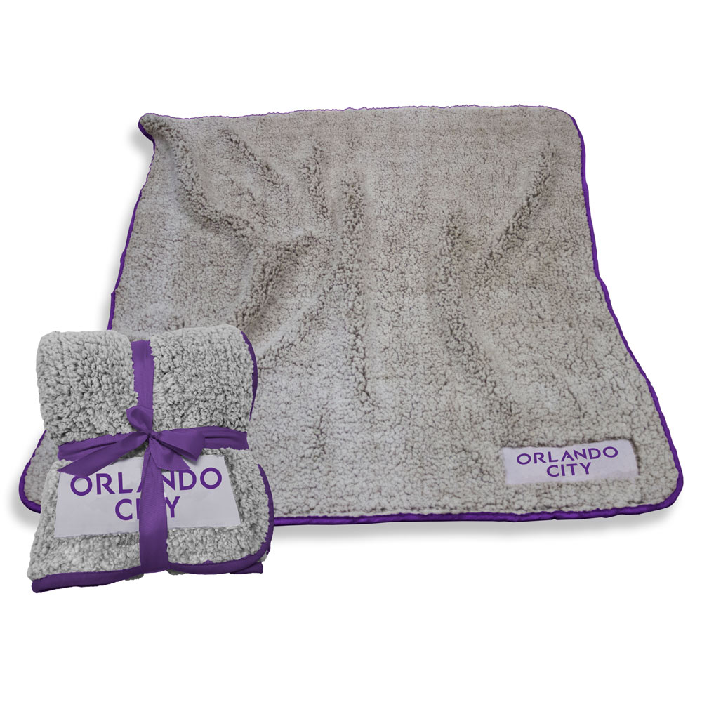 Orlando City FC Frosty Throw Blanket