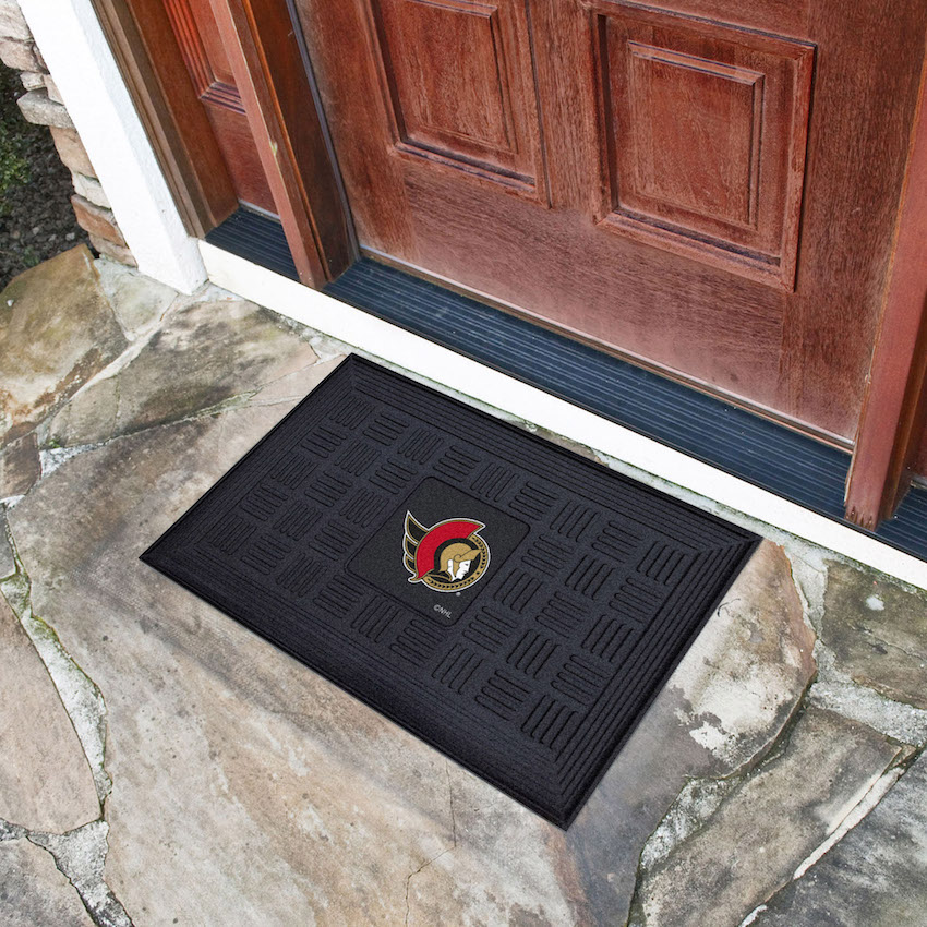 Ottawa Senators MEDALLION Vinyl Door Mat