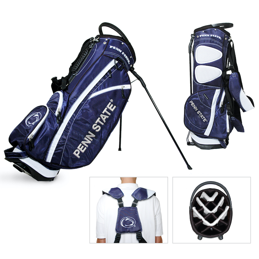 Penn State Nittany Lions Fairway Carry Stand Golf Bag
