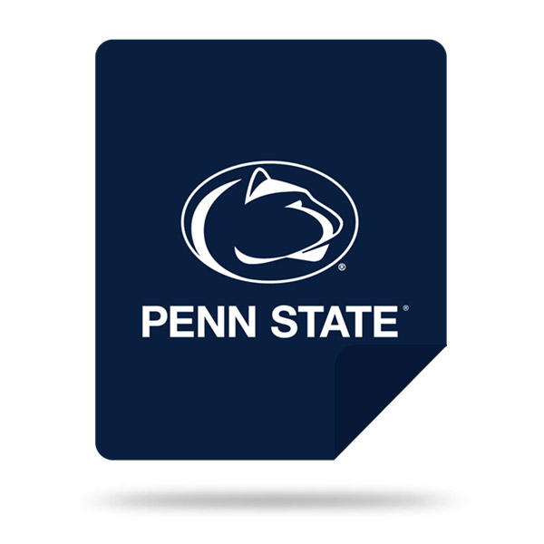 Penn State Nittany Lions DENALI Silver Knit Throw