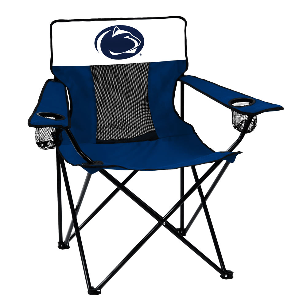 Penn State Nittany Lions ELITE logo folding camp style chair