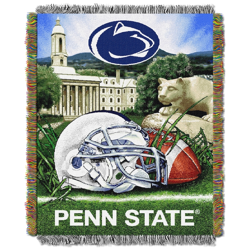Penn State Nittany Lions Home Field Advantage Series Tapestry Blanket 48 x 60