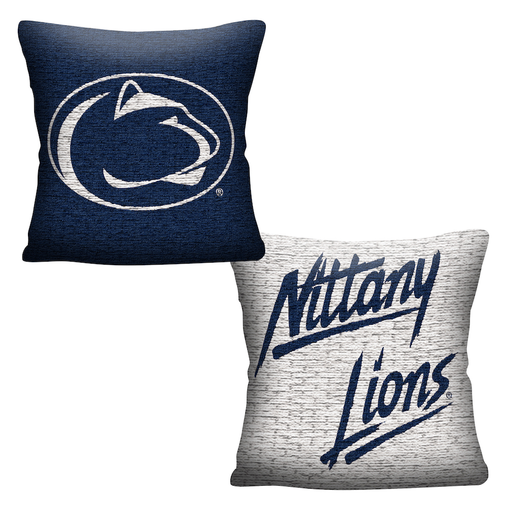 Penn State Nittany Lions Double Sided INVERT Woven Pillow