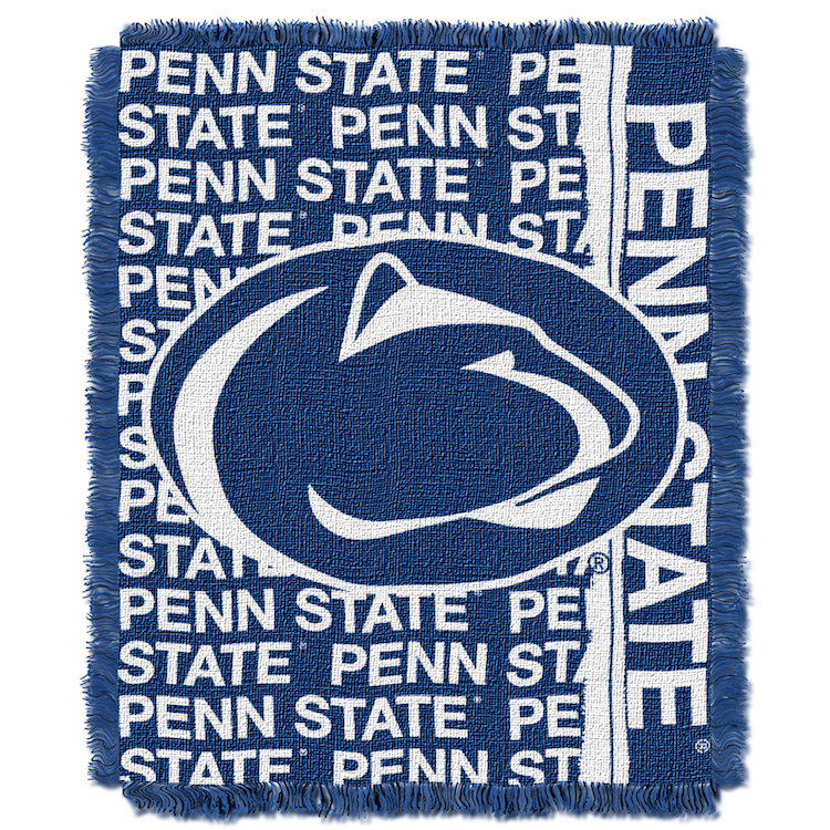 Penn State Nittany Lions Double Play Tapestry Blanket 48 x 60
