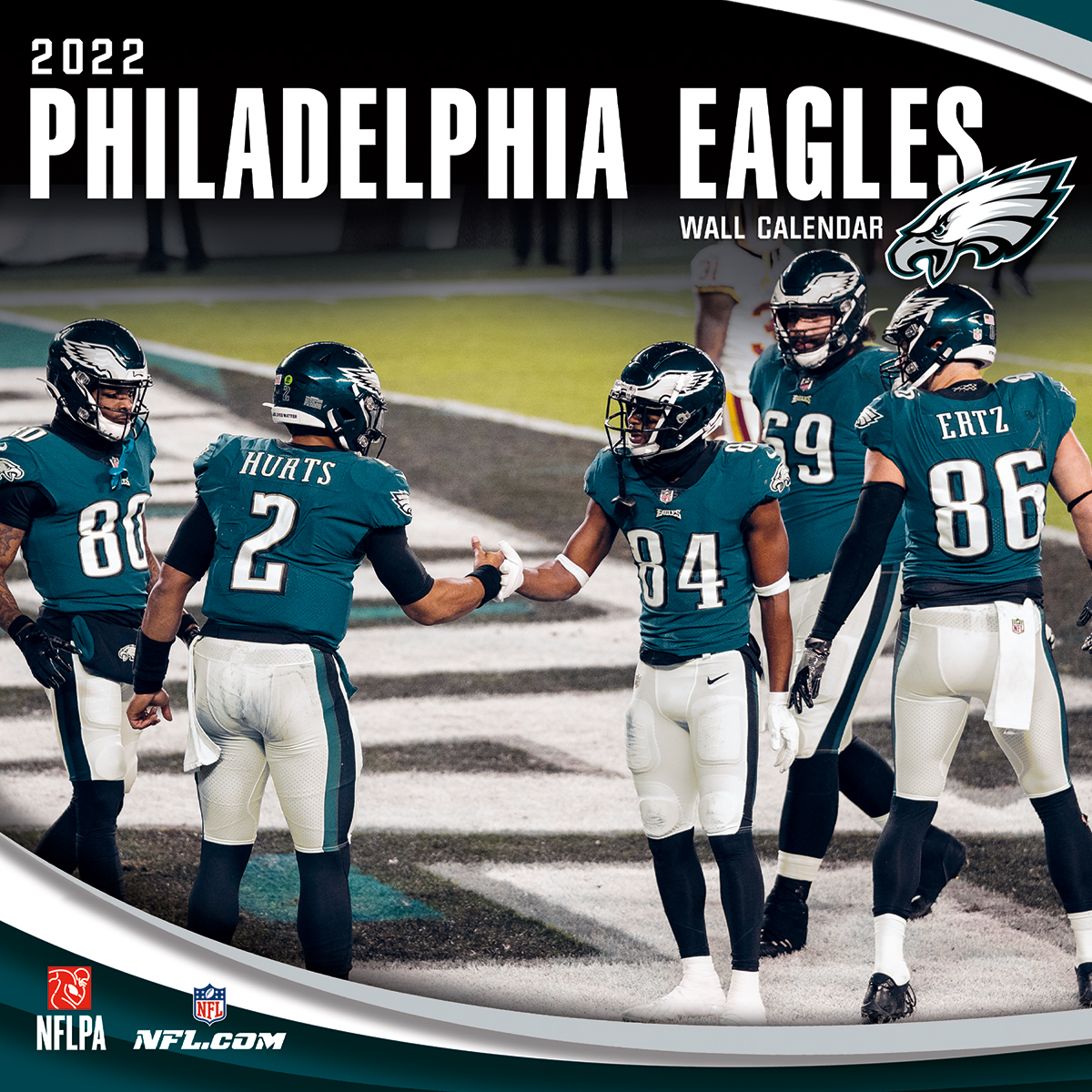 Philadelphia Eagles 2020 NFL Mini Wall Calendar