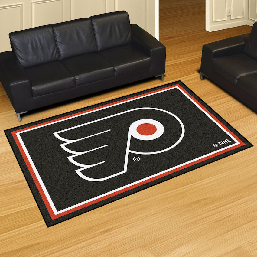 Philadelphia Flyers 5x8 Area Rug