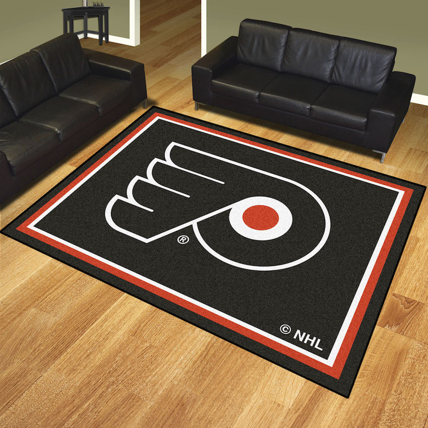 Philadelphia Flyers Ultra Plush 8x10 Area Rug